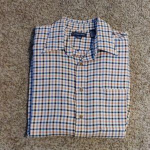 Lands End Flannel Dress Shirt 🎉host pick🎉